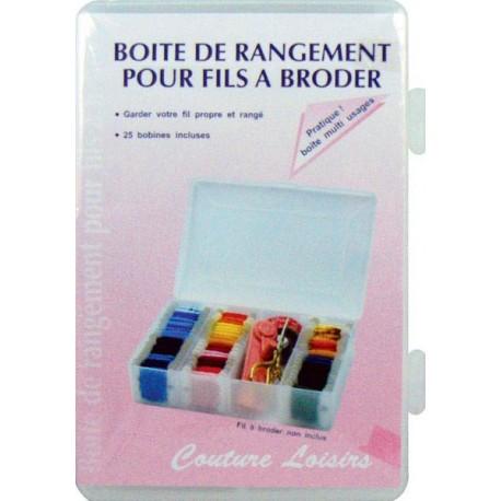 Boite range fil broder les tissus d 39 isa mibel sarl for Rangement fil couture